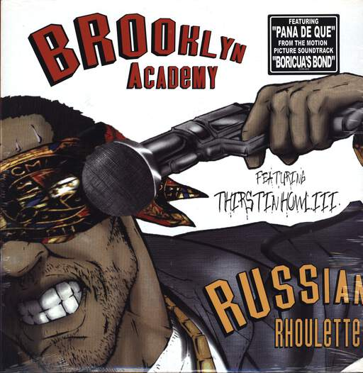 "Brooklyn Academy: Russian Rhoulette / Pana De Que, 12"" Maxi Single (Vinyl)"