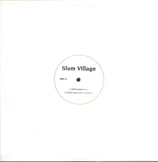 "Slum Village: Fall In Love (Remix), 12"" Maxi Single (Vinyl)"