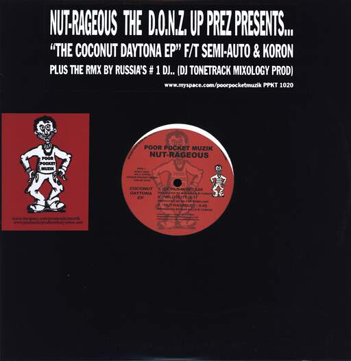 "Nut-rageous: Coconut Daytona E.P., 12"" Maxi Single (Vinyl)"