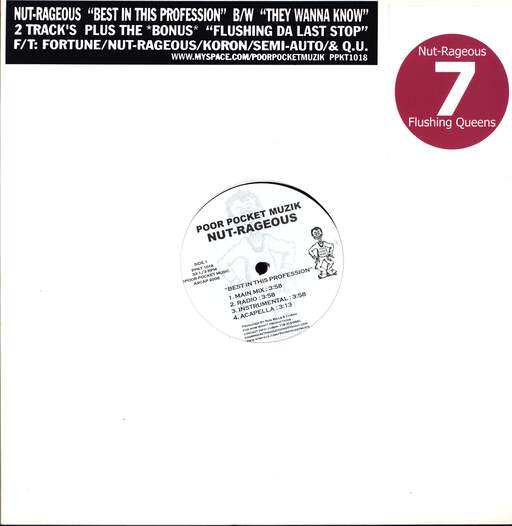 "Nut-rageous: Best In The Profession, 12"" Maxi Single (Vinyl)"