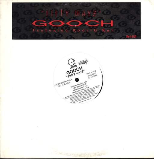 "Gooch: Fifty Wayz, 12"" Maxi Single (Vinyl)"