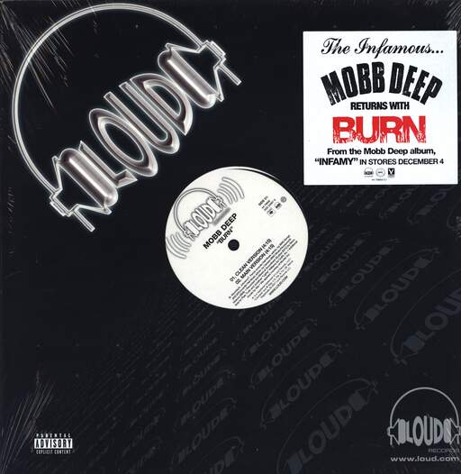 "Mobb Deep: Burn, 12"" Maxi Single (Vinyl)"