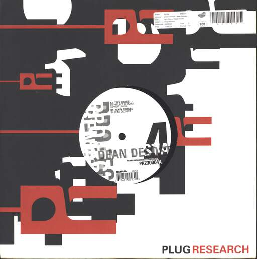 "Project Remark: Tech Hikers / Heavy Circles, 10"" Vinyl EP"