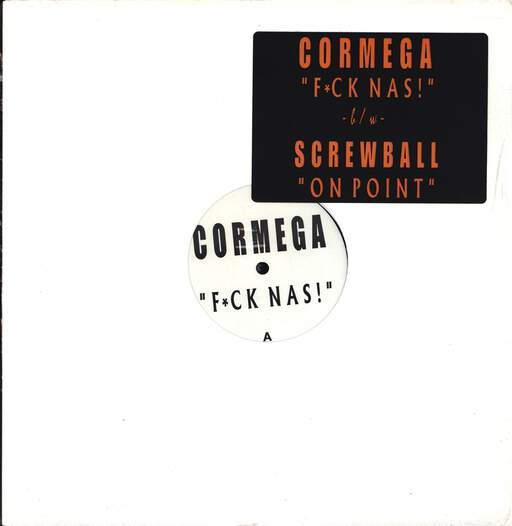 "Cormega: Fuck Nas / On  Point, 12"" Maxi Single (Vinyl)"