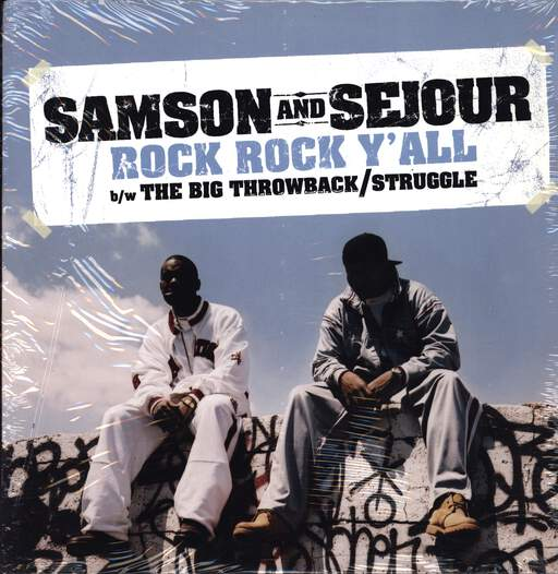 "Samson And Sejour: Rock Rock Y'all, 12"" Maxi Single (Vinyl)"