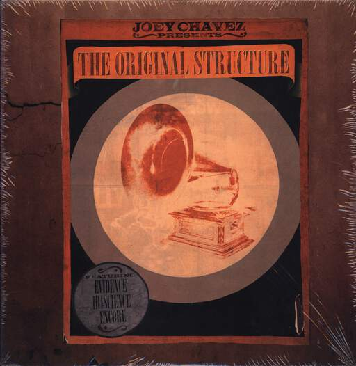 "Joey Chavez: The Original Structure, 12"" Maxi Single (Vinyl)"