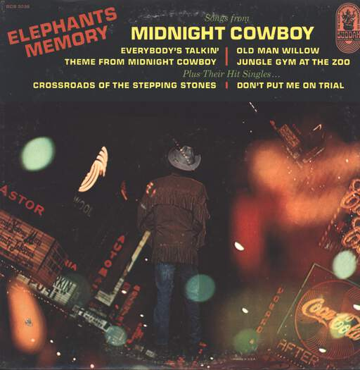 Elephants Memory: Songs From Midnight Cowboy, LP (Vinyl)