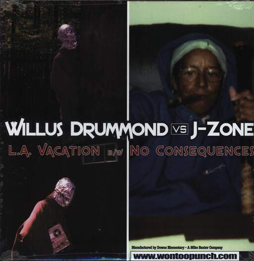 "Willus Drummond: L.A. Vacation / No Consequences, 12"" Maxi Single (Vinyl)"