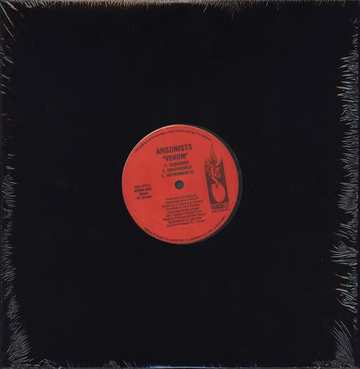 "The Arsonists: Venom / Seed, 12"" Maxi Single (Vinyl)"