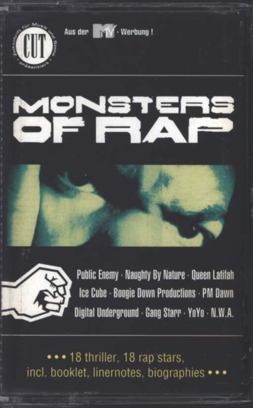Various: Monsters Of Rap, Compact Cassette