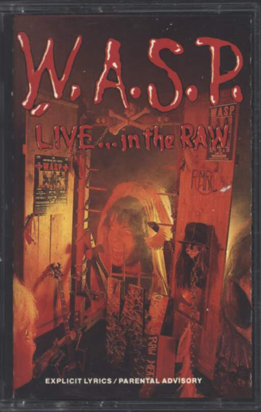 W.A.S.P.: Live... In The Raw, Compact Cassette