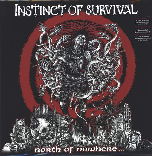 Instinct Of Survival: North Of Nowhere..., LP (Vinyl)