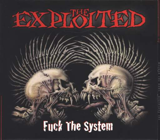 The Exploited: Fuck The System, CD