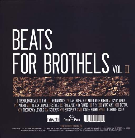 The Doppelgangaz: Beats For Brothels Vol. 2, LP (Vinyl)