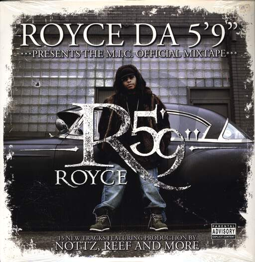 "Royce Da 5'9 "": The M.I.C. Official Mixtape, LP (Vinyl)"