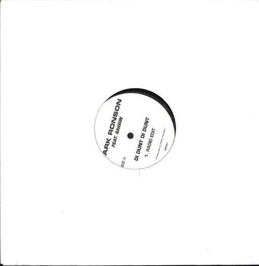 "Mark Ronson: Di Dunt Di Dunt, 12"" Maxi Single (Vinyl)"
