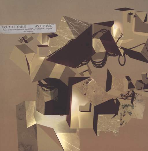"Richard Devine: Asect:Dsect, 12"" Maxi Single (Vinyl)"