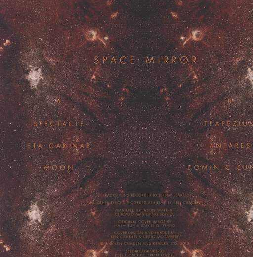 Ken Camden: Space Mirror, LP (Vinyl)