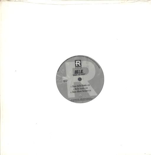 "No I.D.: State To State (Remixes), 12"" Maxi Single (Vinyl)"