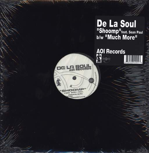 "De La Soul: Shoomp / Much More, 12"" Maxi Single (Vinyl)"