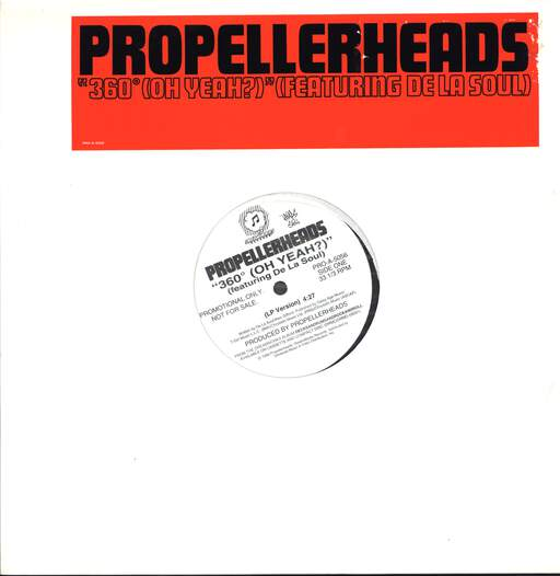 "Propellerheads: 360 Degrees (Oh Yeah?), 12"" Maxi Single (Vinyl)"