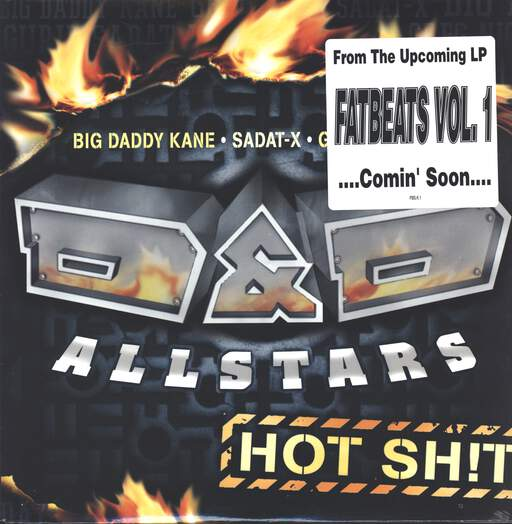 "D&D All-Stars: Hot Shit, 12"" Maxi Single (Vinyl)"