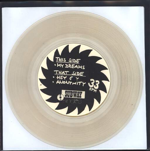 "No Use: My Dreams, 7"" Single (Vinyl)"