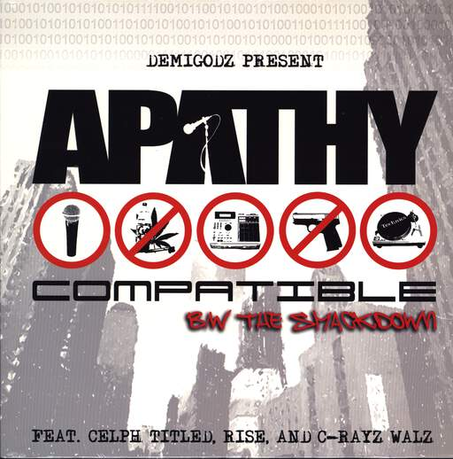 "Apathy: Compatible / The Smackdown, 12"" Maxi Single (Vinyl)"