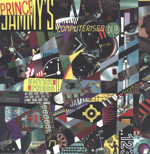 Prince Jammy: Computerised Dub, LP (Vinyl)