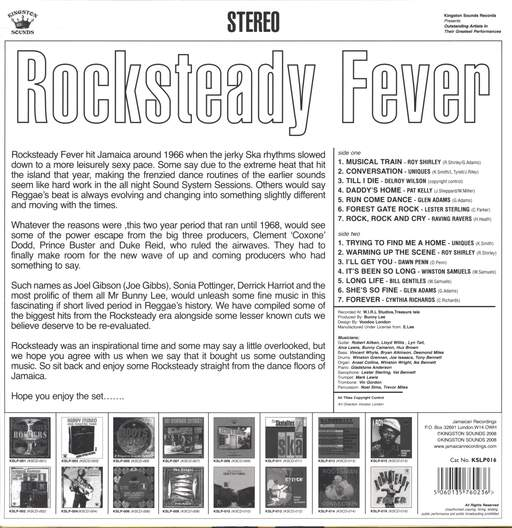 Various: Rocksteady Fever, LP (Vinyl)