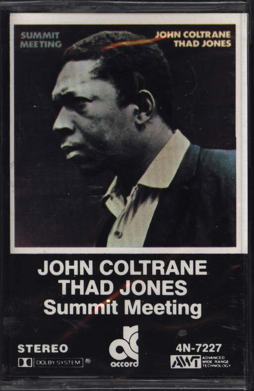 John Coltrane: Summit Meeting, Compact Cassette