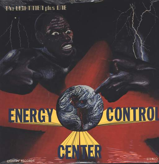 Bubbha Thomas & The Lightmen Plus One: Energy Control Center, LP (Vinyl)