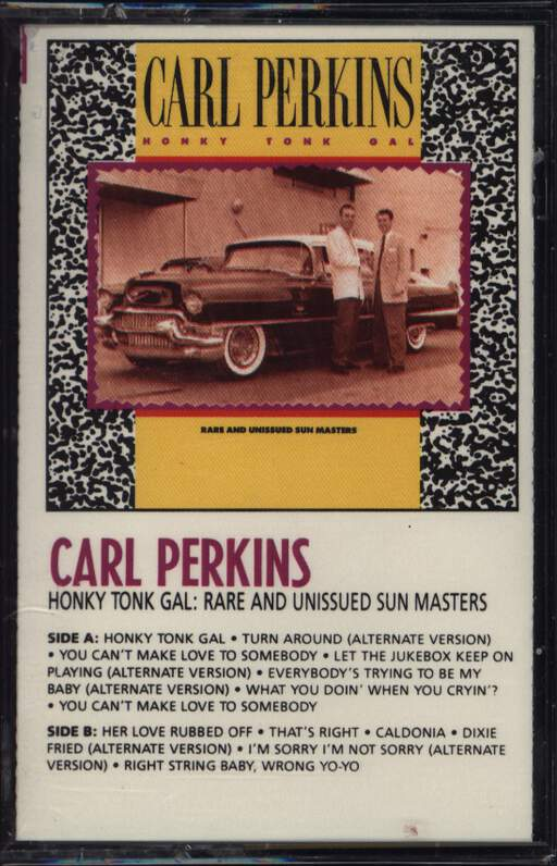 Carl Perkins: Honky Tonk Gal: Rare And Unissued Sun Masters, Compact Cassette