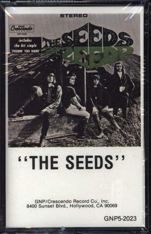 The Seeds: The Seeds, Compact Cassette