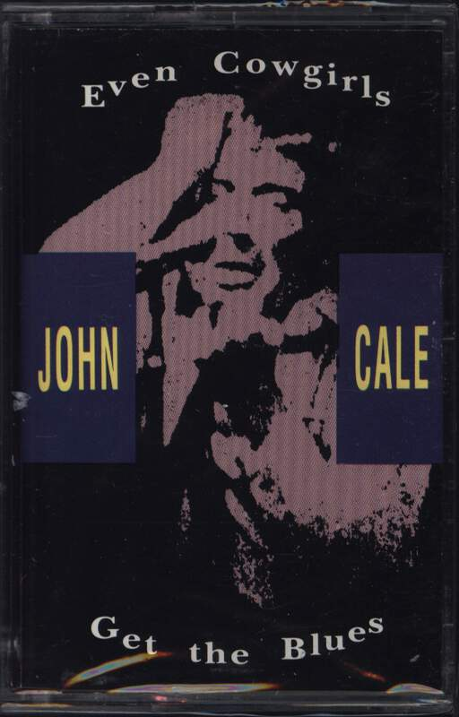 John Cale: Even Cowgirls Get The Blues, Compact Cassette