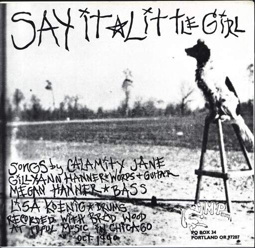 "Calamity Jane: Say It / Little Girl, 7"" Single (Vinyl)"