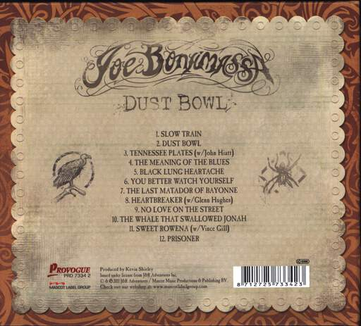 Joe Bonamassa: Dust Bowl, CD