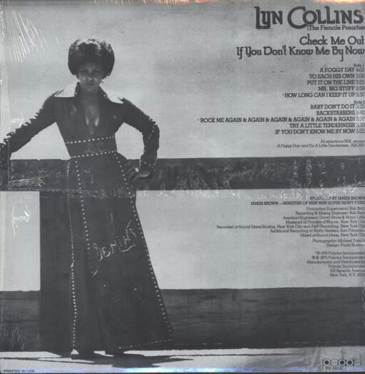 Lyn Collins: Check Me Out If You Don't Know Me By Now, LP (Vinyl)