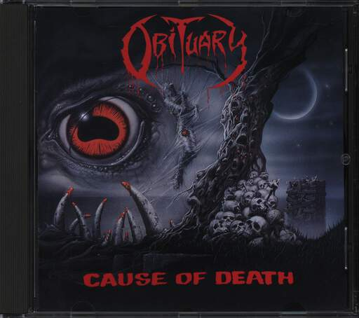 Obituary: Cause Of Death, CD