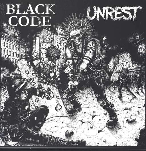Black Code: Black Code / Unrest, LP (Vinyl)