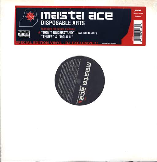Masta Ace: Disposable Arts, LP (Vinyl)