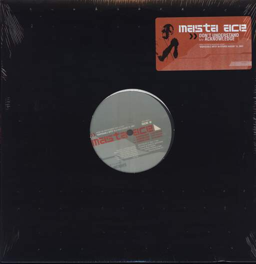 "Masta Ace: Don't Understand (Pump It Like This) / Acknowledge, 12"" Maxi Single (Vinyl)"