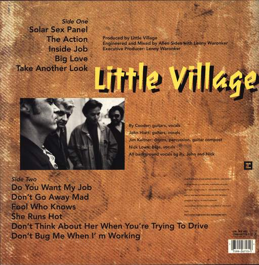 Little Village: Little Village, LP (Vinyl)
