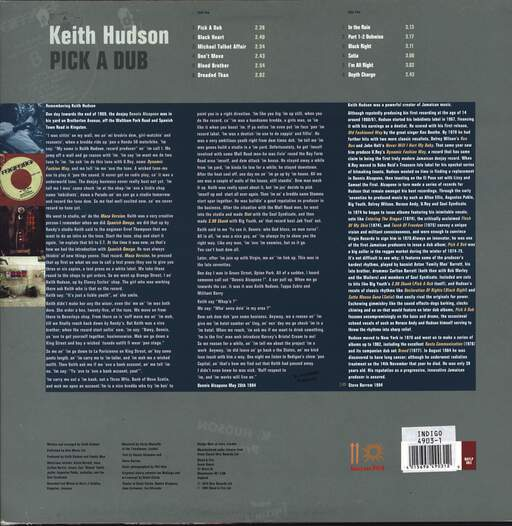 Keith Hudson: Pick A Dub, LP (Vinyl)