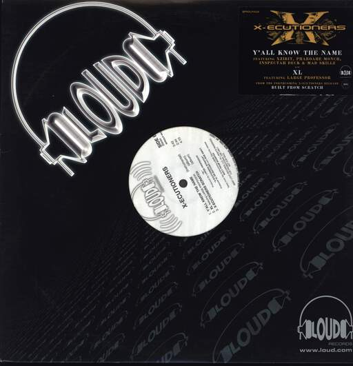 "The X-Ecutioners: Y'all Know The Name, 12"" Maxi Single (Vinyl)"