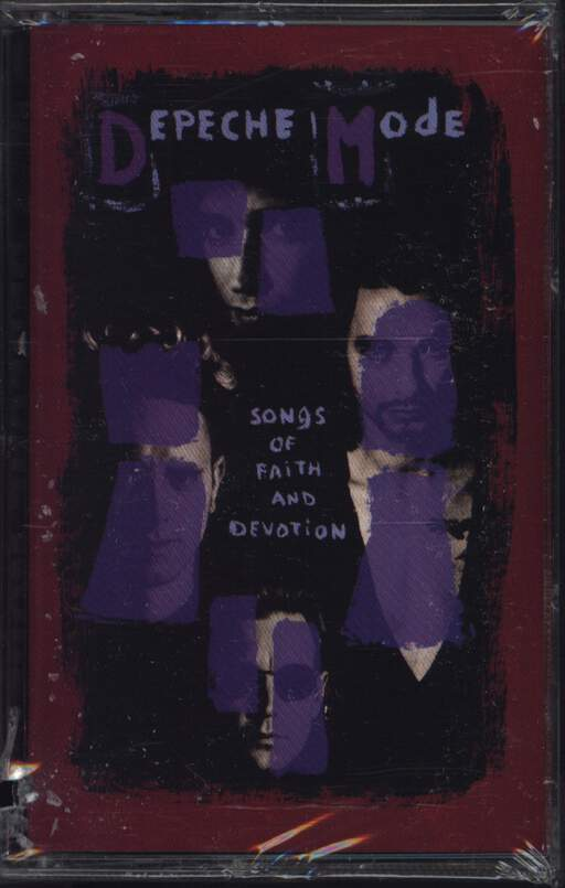 Depeche Mode: Songs Of Faith And Devotion, Compact Cassette