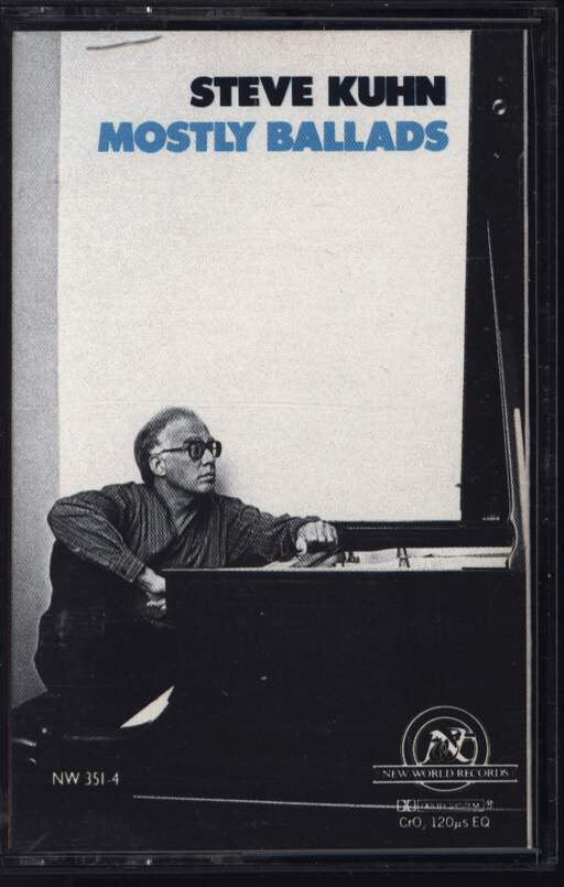 Steve Kuhn: Mostly Ballads, Compact Cassette