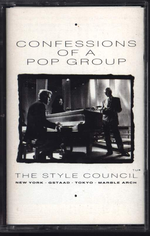 The Style Council Confessions Of A Pop Group
