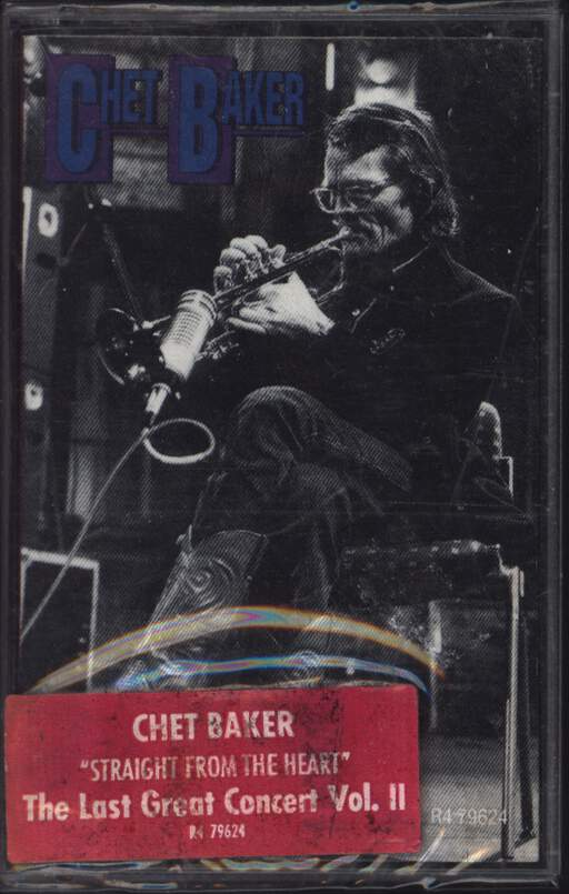 Chet Baker: Straight From The Heart - The Great Last Concert, Vol. II, Compact Cassette