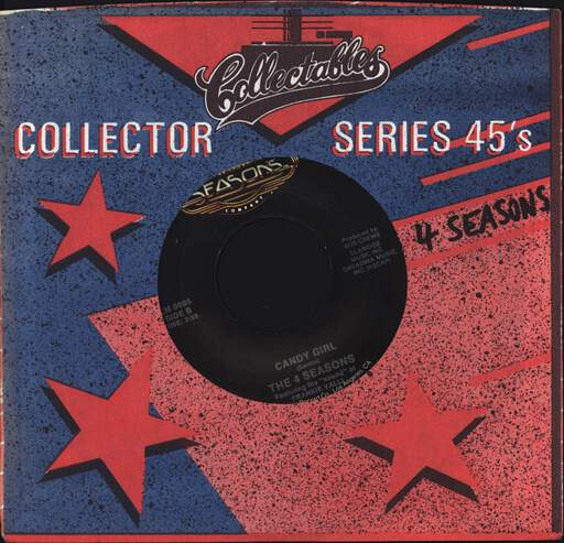 "The Four Seasons: Big Girls Don't Cry, 7"" Single (Vinyl)"